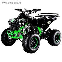 Квадроцикл бензиновый MOTAX ATV Raptor-7 125 сс, черно-зеленый