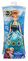 Disney Frozen Fever Birthday Party Anna Doll, Холодное сердце Анна