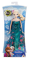 Disney Frozen Fever Birthday Party Elsa Doll, Холодное сердце Эльза