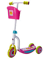 Самокат 3-х колесный Kids Scooter-2 white/pink