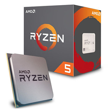 Процессор AMD Ryzen 5 2600X 3, 6Гц (4, 2ГГц Turbo) Pinnacle Ridge 6-ядер 12 потоков