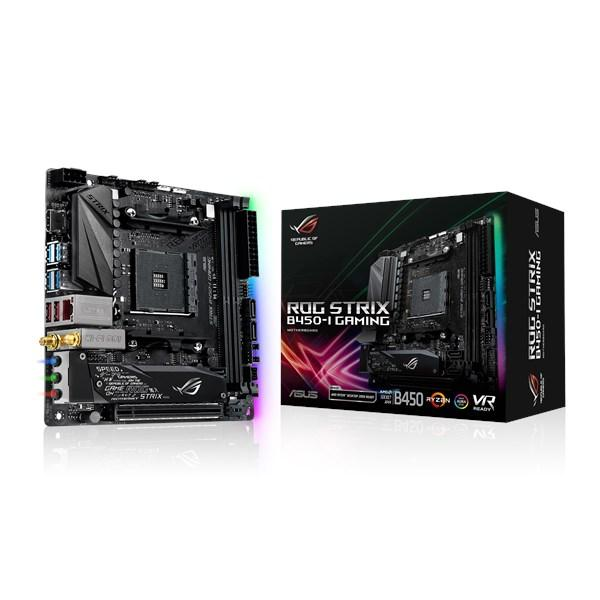 Материнская плата ASUS ROG STRIX B450-I GAMING, Socket AM