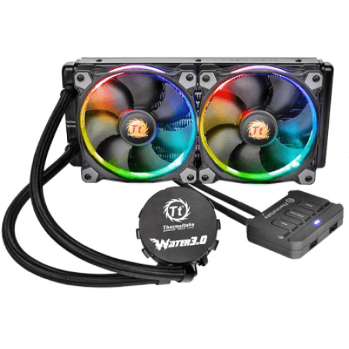 Кулер Thermaltake Water 3.0 Riing RGB 280 (CL-W138-PL14SW-A)