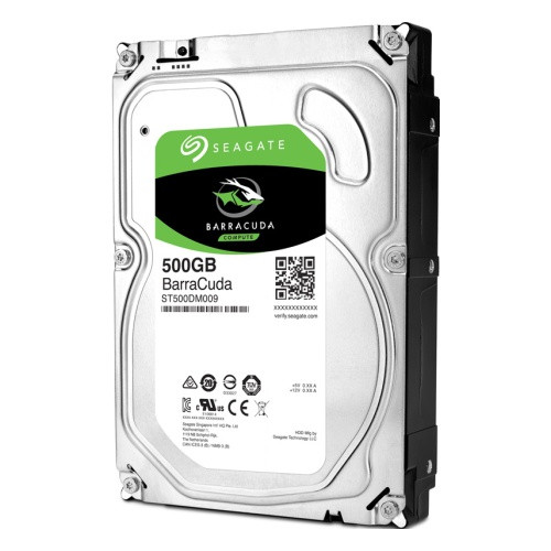"Жесткий диск HDD 500Gb Seagate BarraCuda SATA6Gb/s 7200pm 32Mb 3, 5"" ST500DM009"