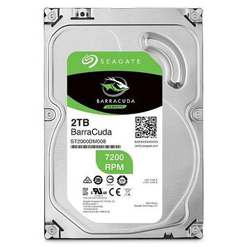 "Жесткий диск HDD 2Tb Seagate Barracuda SATA6Gb/s 7200rpm 256Mb 3, 5"" ST2000DM008"