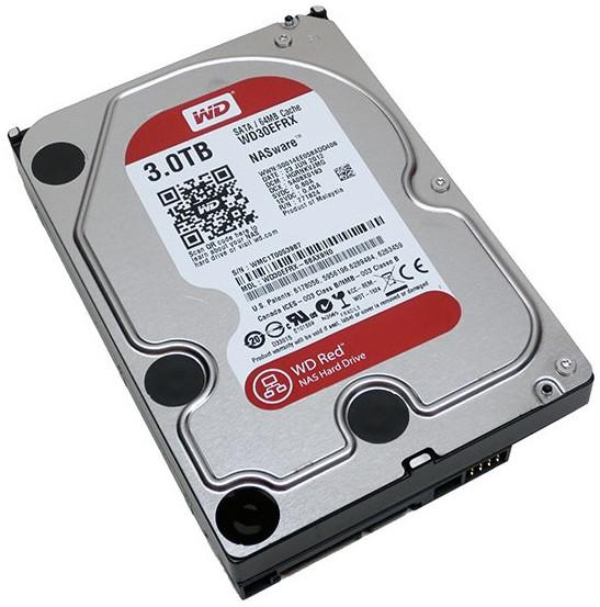"""Жесткий диск HDD 3Tb Western Digital Red 6Gb/s 3.5"""" 64Mb SATA WD30EFRX"""