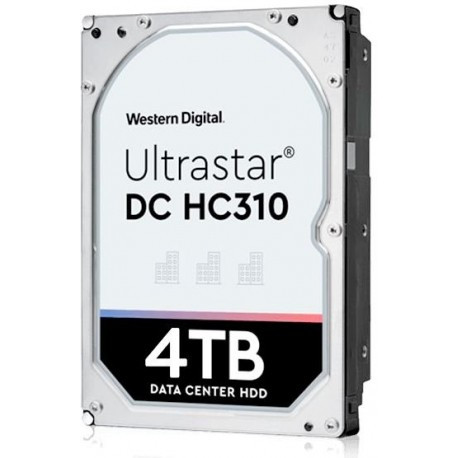 "Жёсткий диск HDD 4 Tb SATA 6Gb/s Western Digital Ultrastar  HUS726T4TALA6L4  3.5"" 7200rpm 256Mb"