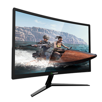 "Монитор 24"" GameMax GMX24C144(177) 1920*1080 HDMI, DP, DVI, изогнутый"