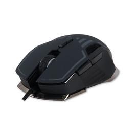 Мышь, Delux, DLMM-628OUB, Игровая, Оптическая, 1000-16000dpi