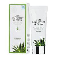 ББ крем с экстрактом алоэ Jigott Aloe Sun Protect BB Cream SPF 41+/ PA++50ml.