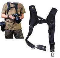Ремень для 2-х фотоаппаратов или аксессуаров, фото 1