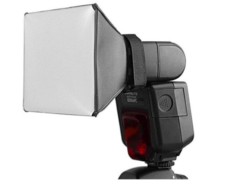 Мини софтбокс для вспышек 15см х 17см Canon, Nikon, Nissin, Yongnuo и др. от Pixco