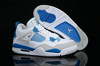 "Кроссовки Air Jordan 4(IV) Retro ""White Blue"" (36-46), фото 1"
