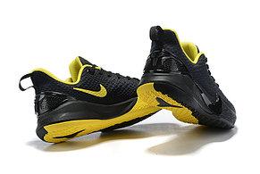 Баскетбольные кроссовки Nike Kobe Mamba Focus Black\Yelow, фото 2