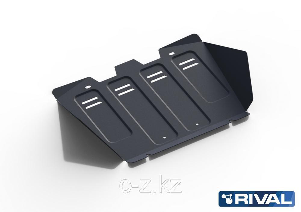 Защита радиатора + картера Toyota Hilux Surf 185 (1995-2002)