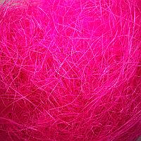 Наполнитель сизаль ярко розовый, CANDY