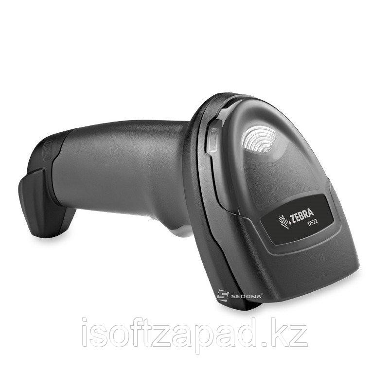 Сканер штрих-кода ручной (2D,USB) Zebra DS2208, без подставки