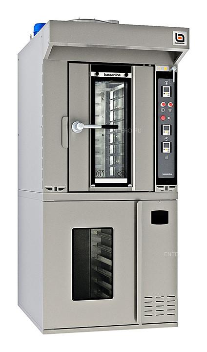 Печь ротационная Bassanina FR MINI E46.10 с расстоечным шкафом FR MINI E46.PR