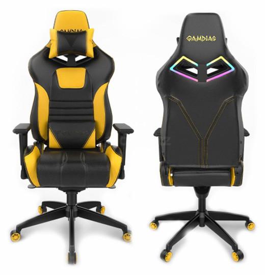 Игровое кресло GAMDIAS ACHILLES M1A L BY Yellow