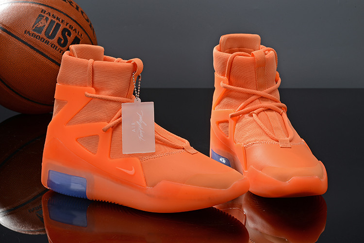 Кроссовки Nike Air Fear Of God 1 Orange