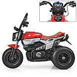 Электромотоцикл детский с надувными колесами BQ-8188, красный, фото 3