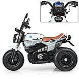 Электромотоцикл детский с надувными колесами BQ 8188, белый, фото 2