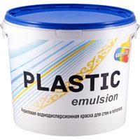 Краска водоэмульсионная Plastic emulsion 3 кг