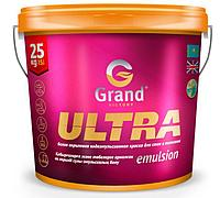 Краска водоэмульсионная GRAND VICTORY ULTRA (СУПЕР БЕЛАЯ, СУПЕР СТОЙКАЯ) 15 кг