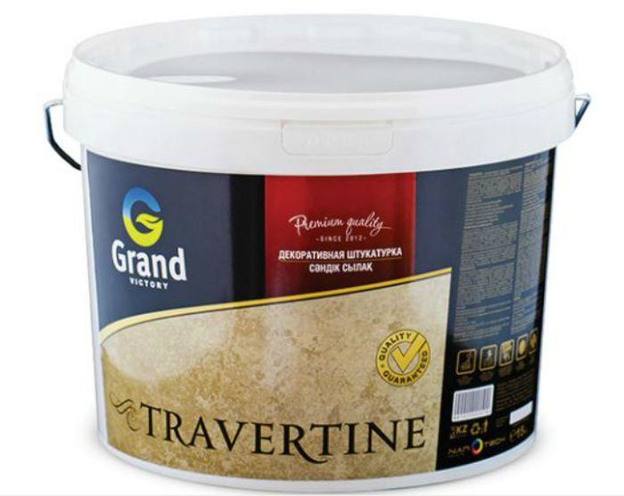 Штукатурка декоративная GRAND VICTORY TRAVERTINE 25 кг