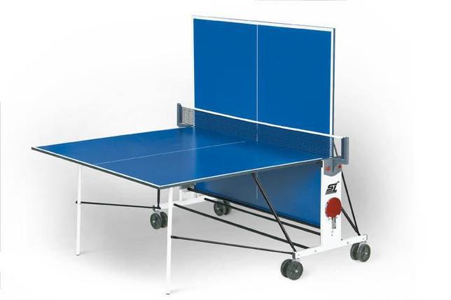 Теннисный стол Start Line Compact Light LX с сеткой (игровой набор в подарок), фото 2