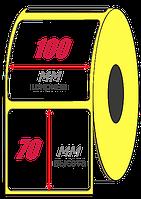 Этикет-лента 100х70х2000