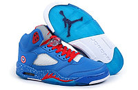 Кроссовки Nike Air Jordan 5(V) Retro Captain America (40-47)