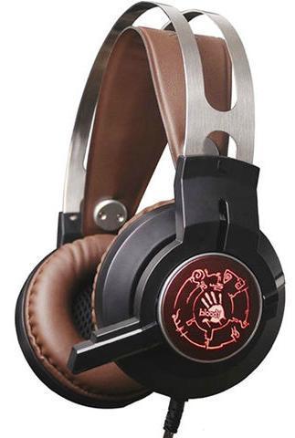 Наушники+микрофон игровые Bloody G430 <20Hz-20kHz, 32 Om, 100dB (1KHz), 2.2m, 3.5+USB>