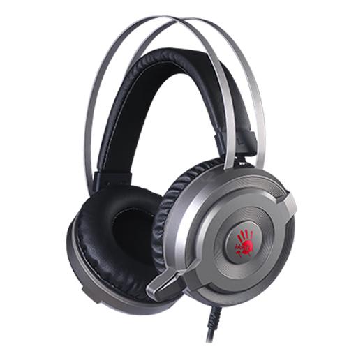 Наушники+микрофон игровые Bloody G520 <7.1, 20Hz-20kHz, 32 Om, 100dB (1KHz), 1.8m>