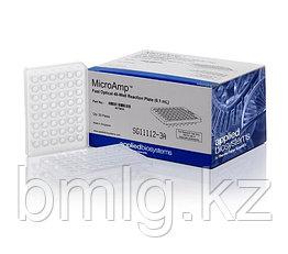 Быстрая оптическая 48-луночная реакционная пластина MicroAmp ™ Applied Biosystems