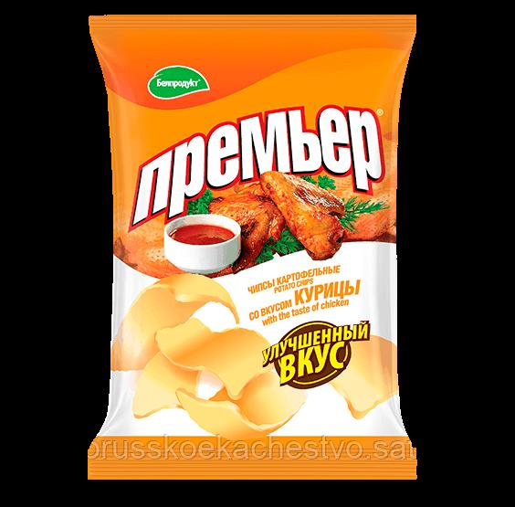 Чипсы-пеллеты Премьер курица 70 гр.
