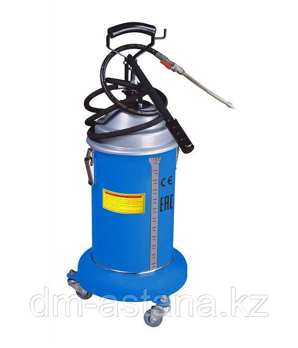 Солидолонагнетатель с ручным насосом 13 кг, TROMMELBERG