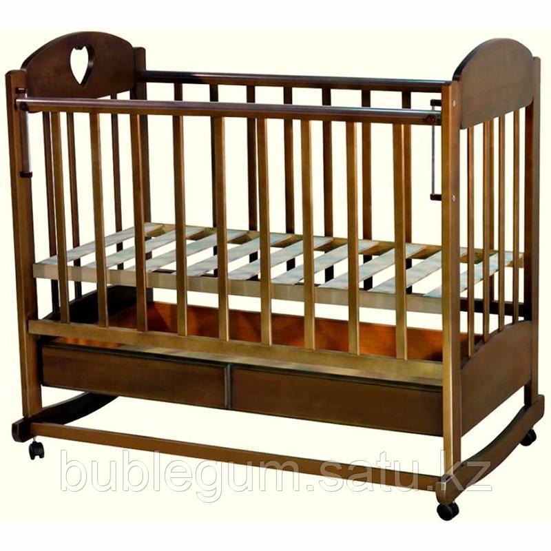 Кровать детская Иришка–2 с маятником поперечного качения