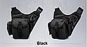 Тактическая сумка KMS - 6013, с плечевым ремнем., фото 5