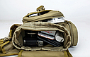 Тактическая сумка KMS - 6013, с плечевым ремнем., фото 7