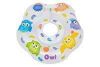 Надувной круг на шею для купания малышей Owl. Возраст от 0 до 2-х лет