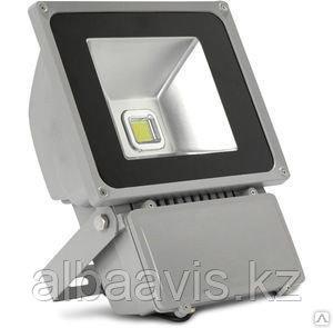 Прожектор светодиодный RGB 100W цветной, разноцветный, меняющий цвета
