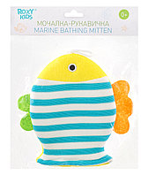 Махровая мочалка-рукавичка «Рыбка»