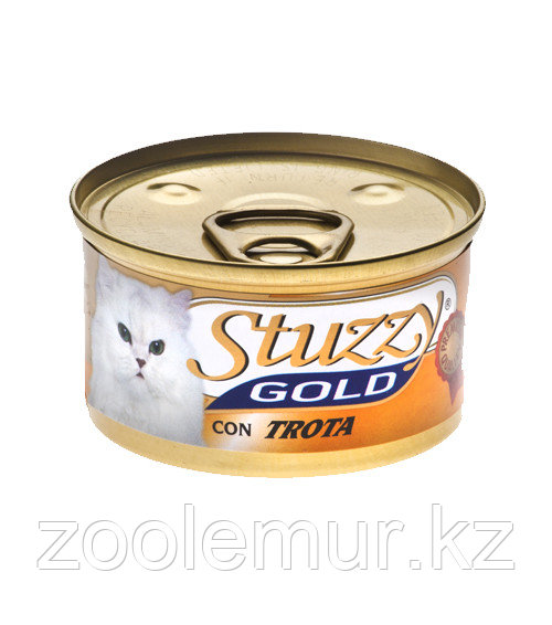 Stuzzy Gold консервы для кошек (мусс из форели) 85 гр.