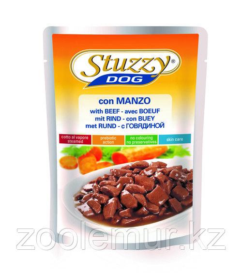 Stuzzy Dog консервы в пауче для собак (с говядиной в соусе) 100 гр