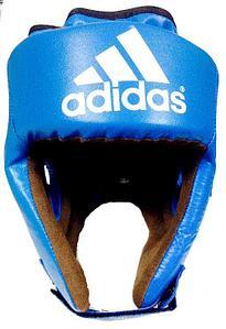 Шлем боксерский  adidas кожа