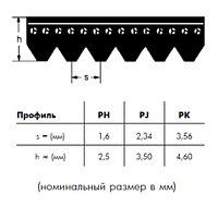 PJ 1092 4 ремень Optibelt RB