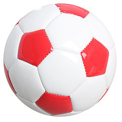 """Мяч футбольный (номер 2) 2 слоя """"Фигуры"""" глянцевый, PVC, цвета микс"""