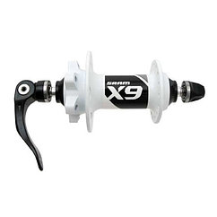 Sram  втулка  передняя диск MTB  X9 V2 White 6-Bolt - 32H 100 OLD 9mm QR included