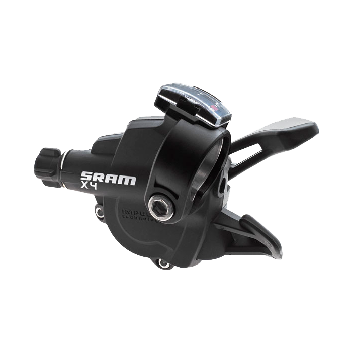 Sram  триггерная манетка  X-4 - 8spd rear in front - set